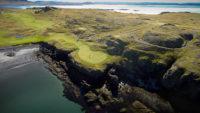 Golfvöllur nálægt Reykjavík