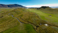 golfing in Iceland nature