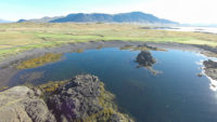 Golf in Icelandic Nature