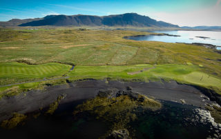 Golf in capital of Iceland