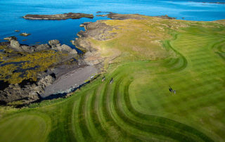 Golfing in Iceland Brautarholt Golf Course