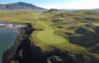 Amazing golf courses around the world Brautarholt golf course in Iceland