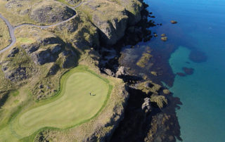 hole in one in Iceland