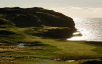 Midnight sun golfing Reykjavik