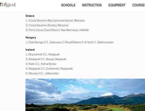 Brautarholt besti golfvöllur á Íslandi